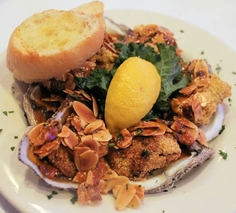 The Best 500 Dishes in New Orleans: Oysters Amandine @ Mr. Ed's Oyster Bar & Fish House  - Awards and Accolades